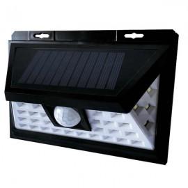 LED solární svítidlo s čidlem pohybu GXSO003, 5W, 200LM, 4000K, IP65