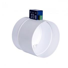 Regulační elektrická PVC klapka Dalap SK1 Ø 100 mm
