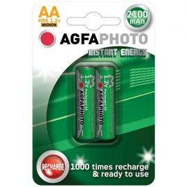Nabíjecí baterie AgfaPhoto NiMH 2100 tužková (AA), blistr 2ks