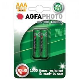 Nabíjecí baterie AgfaPhoto NiMH 950 (AAA), blistr 2ks