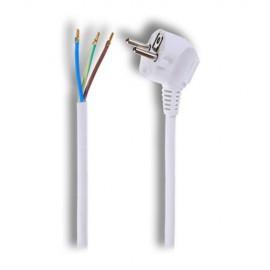 Flexo šňůra 3x1mm, 2m, bílá/PVC