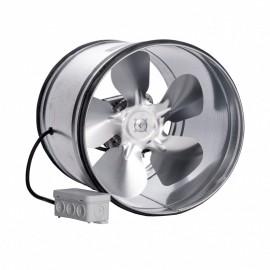 Kovový potrubní ventilátor Dalap VPI Ø 200 mm s těsnící gumou