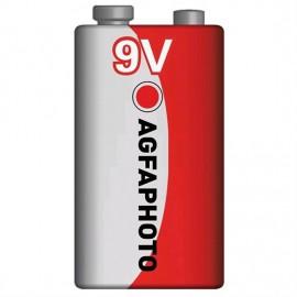Baterie 9V AgfaPhoto zinková