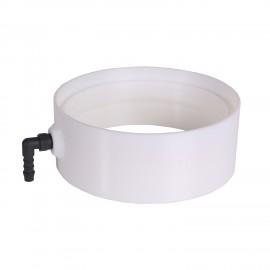 Plastová kondenzační jímka 150 mm pro odvod vody z ventilačního potrubí