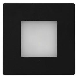 LED orientační svítidlo DECENT černé do krabice KP68