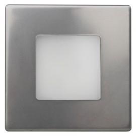 LED orientační svítidlo DECENT stříbrné do krabice KP68