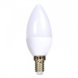 Solight LED žárovka, svíčka, 6W, E14, 4000K, 450lm - bílá