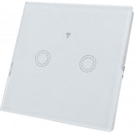 Chytrý vypínač SWITCH 2kanálový, bílý WiFi