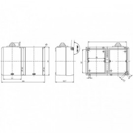 Průmyslový ventilátor Dalap RAB TURBO 250 / 400V