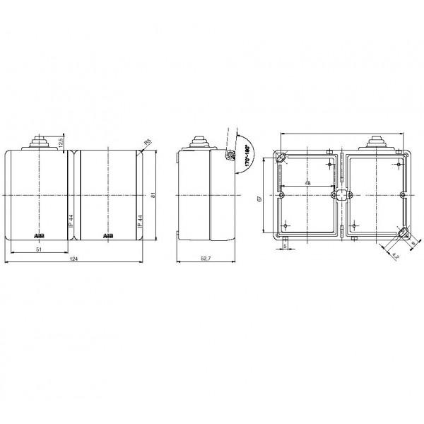 Průmyslový ventilátor Vents OV 2 E250 na 400 V