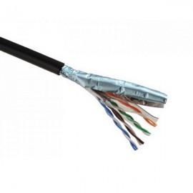 Datový internetový kabel Solarix UTP CAT 5E - venkovní černý