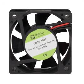 Větrák do PC 12V, 60x60x20 mm, 4500 ot./min.