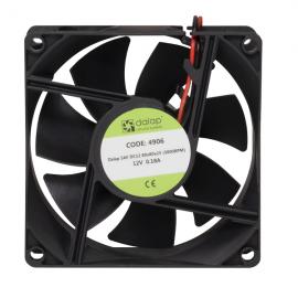 Větrák do PC 12V, 80x80x25 mm, 3000 ot./min.