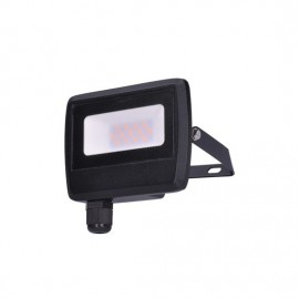 LED reflektor Easy, 10W, 800lm, 4000K, IP65, černý
