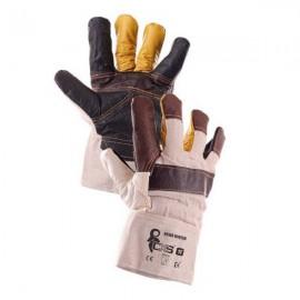 Kombinované zimní rukavice BOJAR WINTER vel.11 kožené
