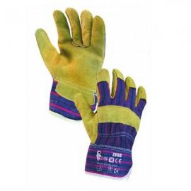 Pracovní rukavice ZORO velikost 10 žluté
