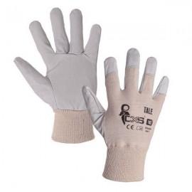 Pracovní rukavice TALE velikost 10 lícová kůže