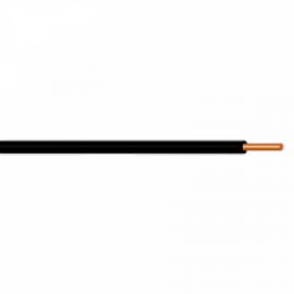 Vodič H07V-U (CY) 2,5 černý