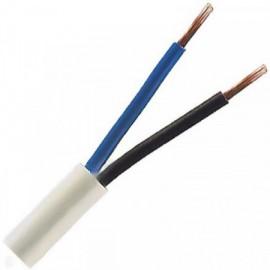 Kabel CYSY 2x1,5 kulatý bílý
