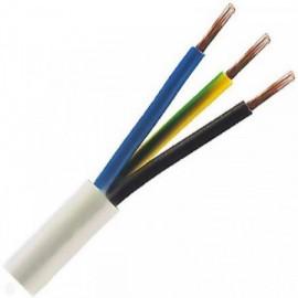 Kabel CYSY 3x1,5 kulatý bílý