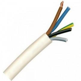 Kabel CYSY 5Cx2,5 kulatý bílý
