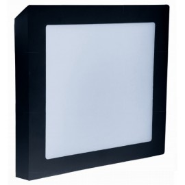 LED panel FENIX-S 23x23cm, 18W, 1350lm, 3800K, IP20 černá