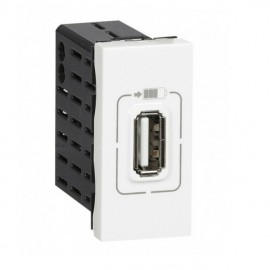 Zásuvka MOSAIC Legrand  USB nabíječka 750mA