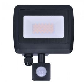 LED reflektor EASY se sensorem 30W, 2400lm, 4000K, IP44