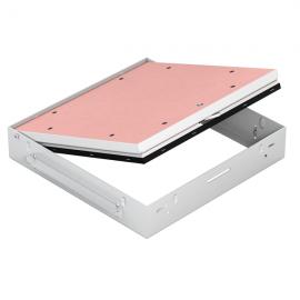Protipožární revizní dvířka GKF EI45 700 x 700 klička, Stěna