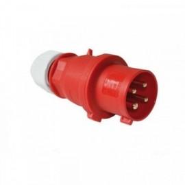 Vidlice 400V 32A 4P na kabel Bals 2142