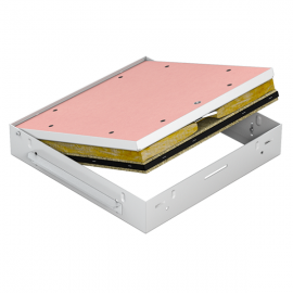Revizní dvířka protipožární GKF EI60 500 x 500 klička, Strop
