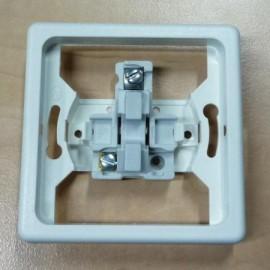 Talířový ventil-anemostat přívodní 200 mm chrom - 99518 - lesklý