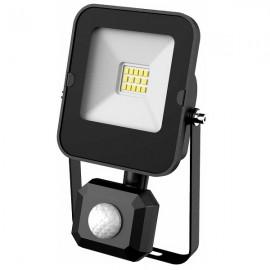 LED SMD reflektor s čidlem ALFA 10W, 1000lm, 4000K, IP44