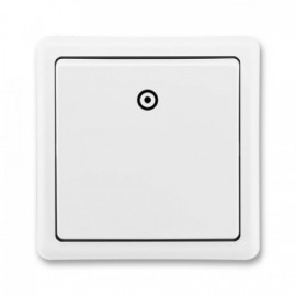 Tlačítko bez kontrolky bílé ABB 3553-80289 B1