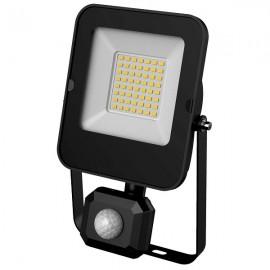 LED SMD reflektor s čidlem ALFA 30W, 3000lm, 4000K, IP44