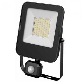 LED SMD reflektor s čidlem ALFA 50W, 5000lm, 4000K, IP44