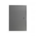 Revizní dvířka kovová RVMLG 600x800 se zámkem šedá