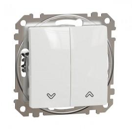 Žaluziový ovladač dvojitý SEDNA Design, bílá lesklá