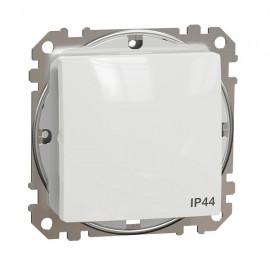 Vypínač SEDNA Design č.6 střídavý, bílá lesklá IP44