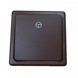 Tlačítkový vypínač hnědý ABB 3553-80289 H3