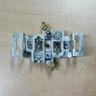 Zásuvka jednonásobná zapuštěná hnědá 5517-2389 H3