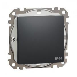 Vypínač SEDNA Design č.1 jednopólový, antracit matná IP44