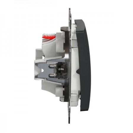 Větrací mřížka kovová  400 x 400 mm MVMP400s bílá