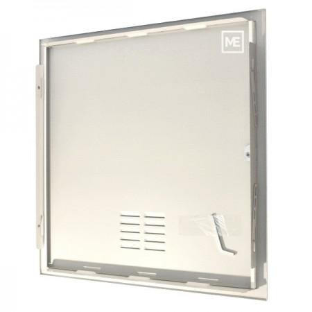 Větrací mřížka z vysoce kvalitního extrudovaného hliníku - 450x300 mm, šedá