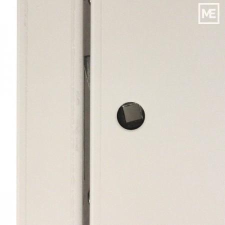 Větrací mřížka z vysoce kvalitního extrudovaného hliníku - 450x400 mm, šedá
