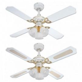 Stropní ventilátor se světlem Westinghouse 78324 - Princess Trio