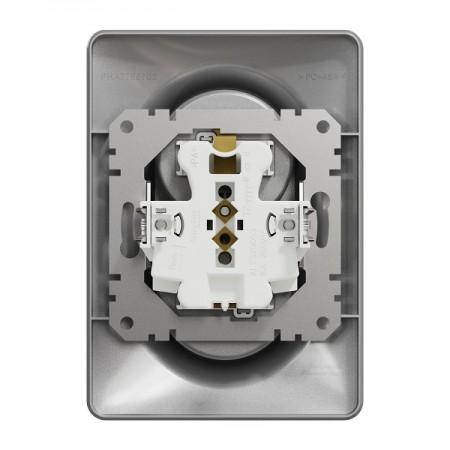 Větrací mřížka z vysoce kvalitního extrudovaného hliníku - 350x300 mm, bílá