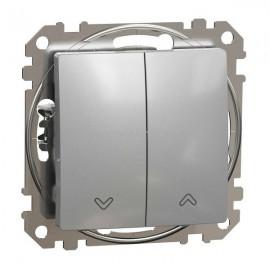 Žaluziový ovladač dvojitý SEDNA Design, aluminium