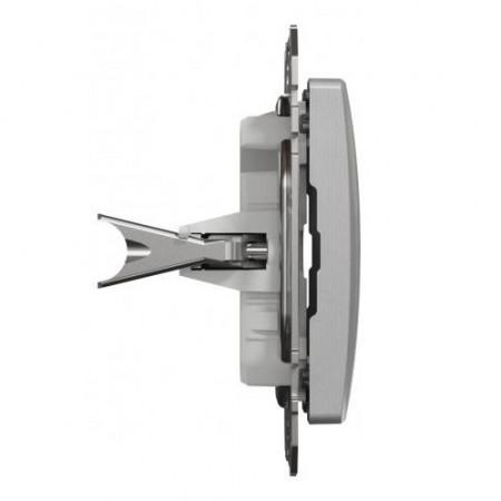 Větrací mřížka z vysoce kvalitního extrudovaného hliníku - 450x100 mm, bílá
