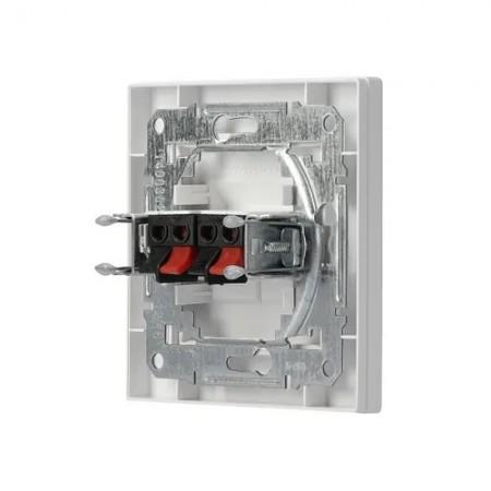 Větrací mřížka z vysoce kvalitního extrudovaného hliníku - 450x300 mm, bílá